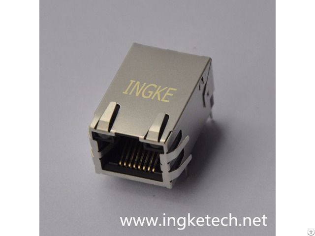 Ingke Ykgu 8309nl 100% Cross Rta 164aak1a Through Hole Rj45 Magnetic Modular Jacks