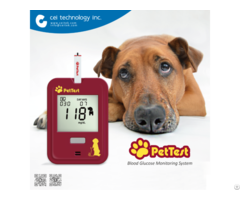 Veterinary Blood Glucose Monitor