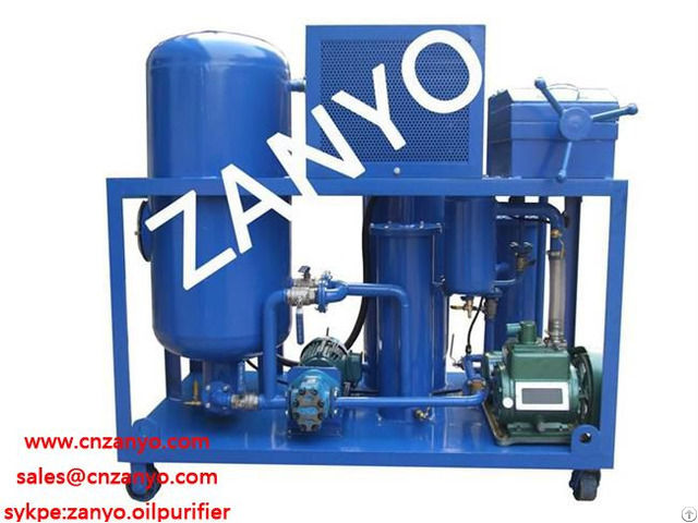 Zyc Waste Vacuum Cooking Oil Purifier Machine