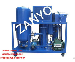 Zyc Waste Vacuum Cooking Oil Purifier Machine