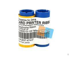 For Zebra 800015 105 Yellow Ribbon 1000 Prints Roll