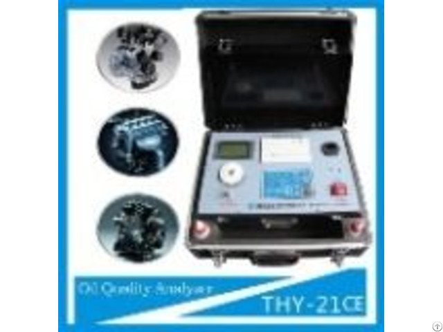 Contaminate In Lube Oil Analysis Kit