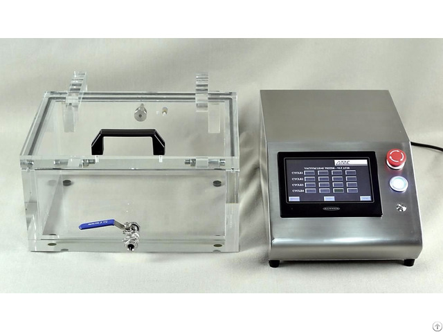 Vacuum Leak Tester Plc Model