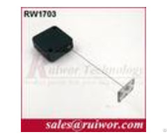 Burglar Proof Square Plastic Pull Box With Glutinous Metal Plate End