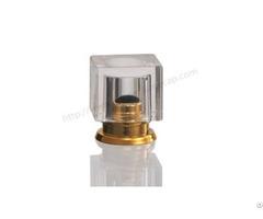 Shiny Silver Parfume Cap