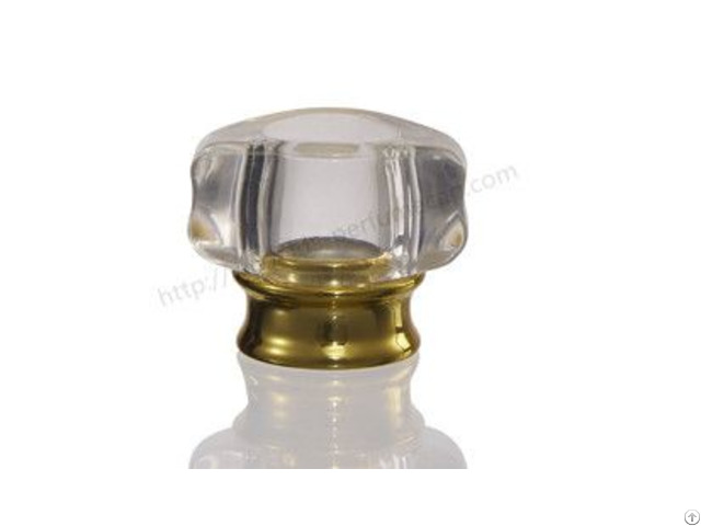 Silver Golden Plastic Perfume Lid