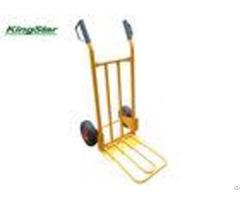 Zinc Finish Rim Lightweight Folding Hand Cart For Moving Heavy Objects