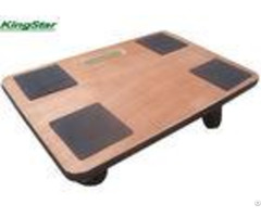 Wooden Heavy Duty Furniture Dolly With Anti Slip Square Area And Pvc Seal 300kg Capacity