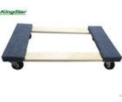 Four Wheel Carpeted Moving Dolly Easy Move For Transporting Appliances