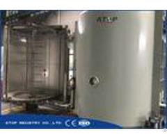 Plastic Chrome Plating Vacuum Metallizing Machine For Wear Resistant Film