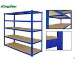 265kg Capacity 5 Tier Boltless Shelving Powder Coated Without Cramped Edge