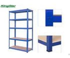 Powder Coated Boltless Shelving System Common Upright 265kg Capacity