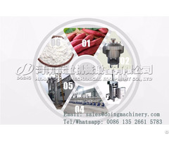 Sweet Potato Starch Manufacturing Plant