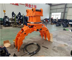 Excavator Five Finger Hydraulic Stone Grapple