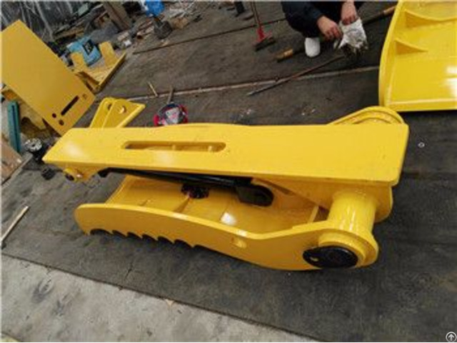 Excavator Hydraulic Thumb Grapple Fit With Bucket