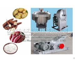 Turnkey Project Cassava Starch Production Machinery