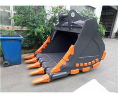 Hard Durable Heavy Duty Excavator Rock Bucket