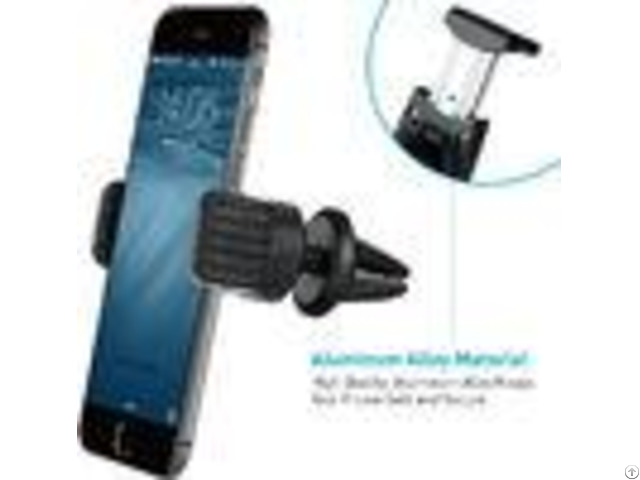 Air Conditioner Universal Car Phone Mount Strong Magnet Abs Material
