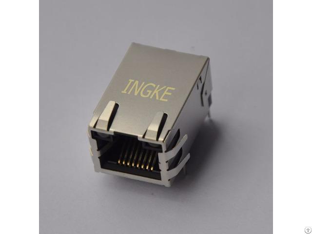 Ingke Ykju 8199nl 100% Cross Arjc01 111002l Through Hole Rj45 Modular Jack