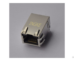 Ingke Ykju 8199nl 100% Cross Arjc01 111002l Through Hole Rj45 Modular Jack