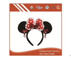 Plush Disney Minnie Mouse Headband