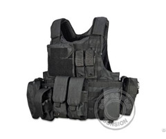Tactical Vest With Molle System Both In Back And Front