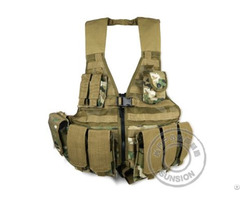 Tactical Vest With Usa Standard