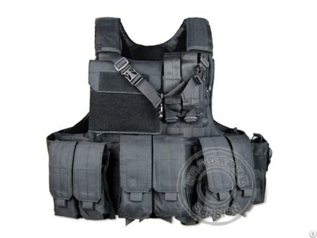 1000d Cordura Tactical Vest With Quick Release System