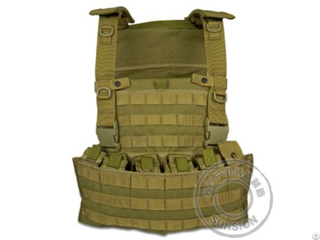 Plate Carrier With Molle System