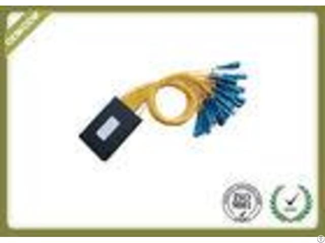 Abs Cassette Type 1x32 Optic Fiber Plc Splitter Module With Sc Upc Connector