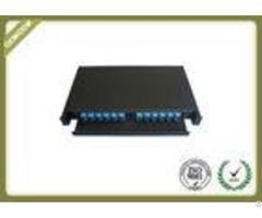 1u 19 Sliding 24 Port Fiber Optic Patch Panelrack Mount Optical Distribution Frame