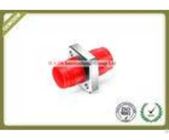 Metal Square Type Fc Fiber Adapter Coupler For Odf And Pigtail High Precision