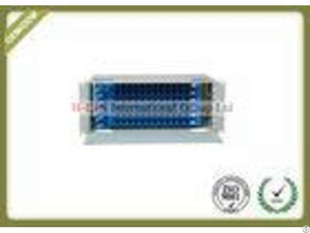 4u 72 Ports Rack Mounted Fiber Optic Distribution Box For Ftth Lan Wan Catv