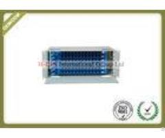 4u 72 Ports Rack Mounted Fiber Optic Distribution Box For Ftth Lan Wan Catv