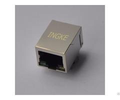 Ingke Ykgd 8089nl 100% Cross 7499111211 Single Port Rj45 Jacks With Integrated Magnetics
