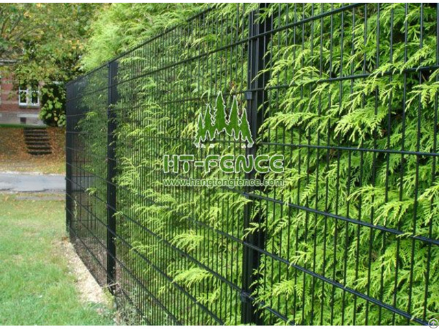 Twin Wire Mesh Fencing Panel