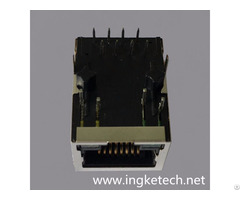 Ingke Ykjd 8005nl 100% Cross Hr911105a Through Hole Magnetic Rj45 Connectors