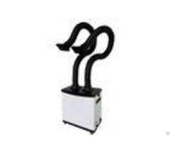200w Portable Welding Fume Extractor Double Arms For Purifying Air Ce Certification