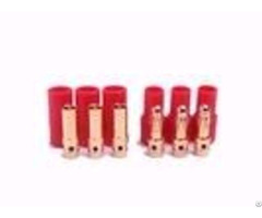 Amass Gold Connector 3pin 3 5mm Three Core 24k Banana Plug For Motor
