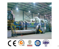 Industrial Continuous Waste Plastic Pyrolysis Prodcution Line
