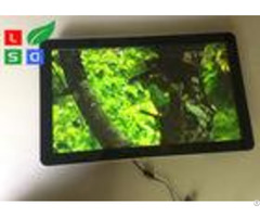 Wall Mounting Indoor Lcd Advertising Display U Disk Control 1080x1920 Resolution