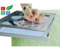 Hanging Bracket Led Magnetic Light Box Dc 12v For Restaurant Menu Board Display
