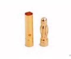 High Current Bullet Gold Plated Amass 3 0mm Banana Plug Am 1001b