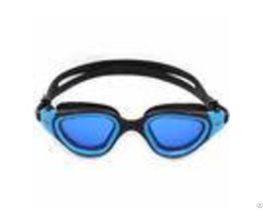 Panoramic Soft Racing Swimming Goggles Adult Wearing Glasses With Customized Logo