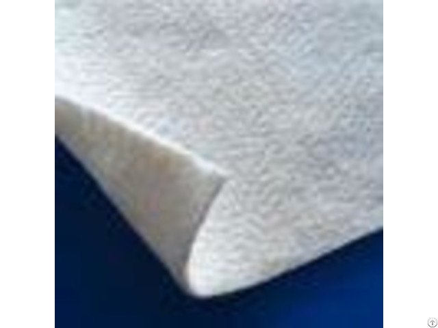 White Color Pet Geotextile Separation Fabric Non Woven Lightweight Uv Resistance