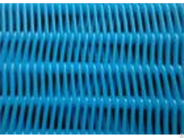 Spiral Link Type Polyester Screen Mesh For Paper Making Machine 1200cfm