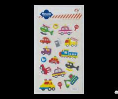 Evs Layer Paper With Glitter Handmade Sticker