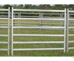 Galvanized Steel Cattle Yard Panels Anti Oxidizing Property Excellent Pressure Resistance