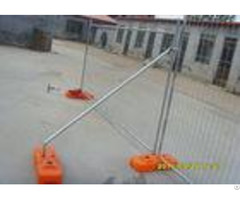 Temporary Security Fencing Construction Fence Panels Corrosion Resistance