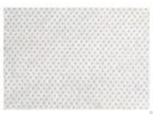 Spunbond Polyester Non Woven Fabric White Color For Household Textiles